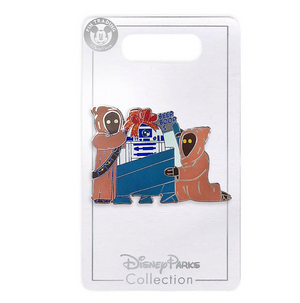 Disney Parks Star Wars R2-D2 and Jawas Christmas Holiday Pin New with Card