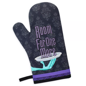 Disney Parks Haunted Mansion Room for One More Oven Mitt New with Tags