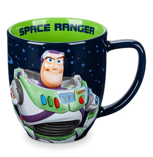 Disney Parks Toy Story Buzz Portrait Space Ranger Coffee Mug Tea Cup New