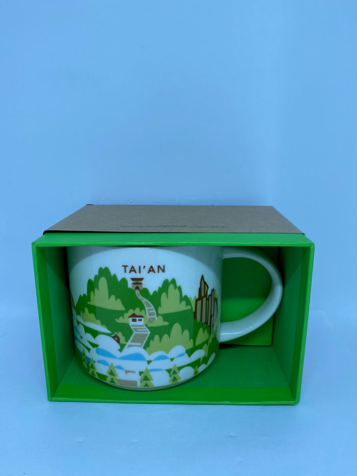 Starbucks You Are Here Collection Tai'an China Ceramic Coffee Mug New with Box