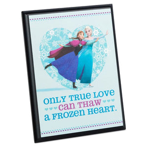 Hallmark Disney Frozen Elsa and Anna Plaque New