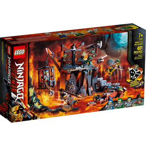 Lego 71717 NINJAGO Journey to the Skull Dungeons Building Kit New with Box