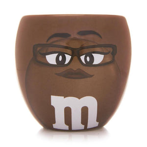M&M's World Brown Character Barrel Shot Glass New