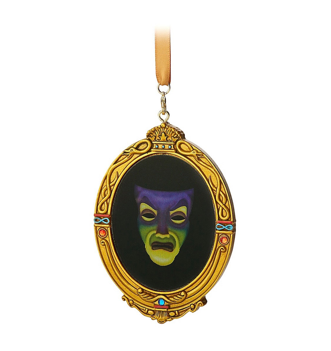 Evil Christmas Characters.Disney Parks Evil Queen Mirror Christmas Ornament New With Tags