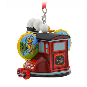 Disney Parks Mickey and Minnie Runaway Railway Ear Hat Ornament New with Tag