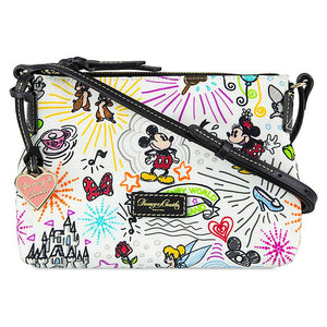 Disney Parks Sketch Nylon Crossbody Bag by Dooney & Bourke New with Tag