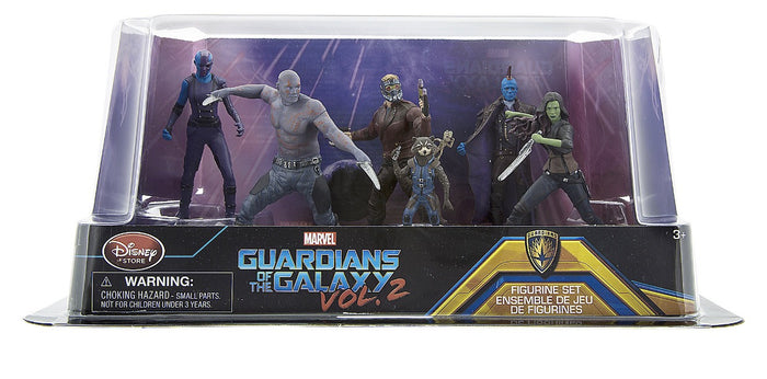 Disney Guardians of the Galaxy Vol. 2 Figure Play Set Playset 6 pieces New