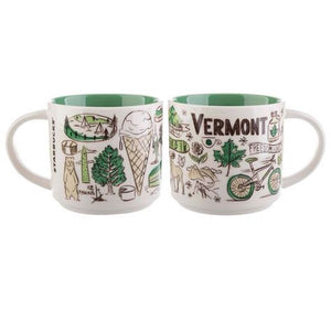 Starbucks Been There Series Collection Vermont Ceramic Coffee Mug New