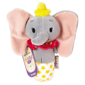 Hallmark Keepsake Itty Bittys Dumbo Baby Rattle Plush New with Tags