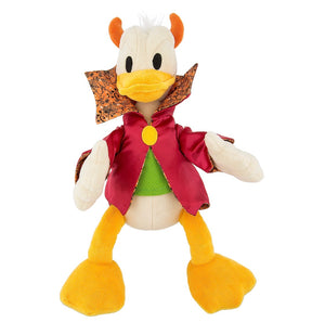 Disney Halloween Devil Donald Duck 11 inc Plush New with Tags