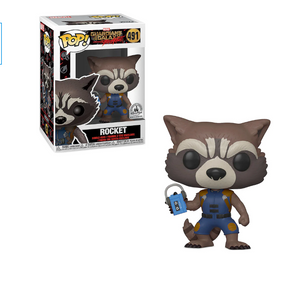 Disney Parks Exclusive Guardians of the Galaxy Rocket Funko Pop New with Box