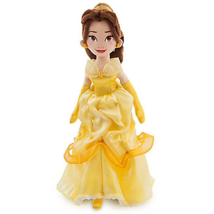 "Disney Store Beauty And The Beast Princess Belle Doll 18"" Plush Toy New"