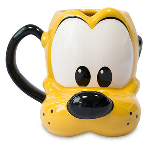 Disney Pluto Head Figural Mug New