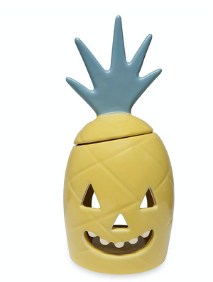 Disney Pineapple Jack-o'-Lantern Candle Holder Aulani A Disney Resort & Spa New