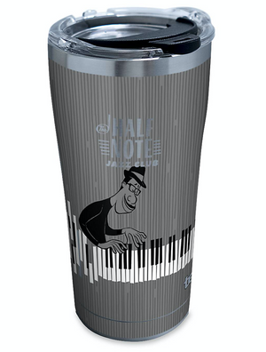 Disney Soul The Half Note Jazz Club Stainless Steel Travel Tumbler Tervis New