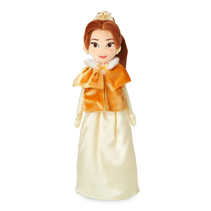 Disney Belle Plush Doll in Winter Cape Medium New with Tags