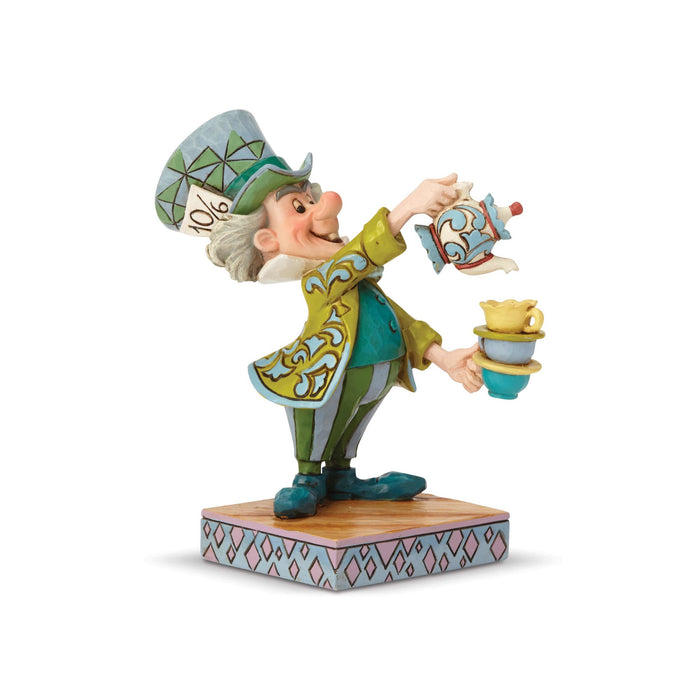Disney Traditions Alice in Wonderland Mad Hatter Jim Shore Figurine New with Box
