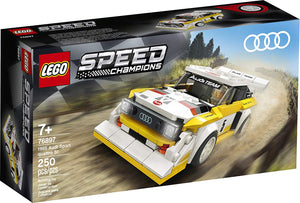 Lego 76897 1985 Audi Sport quattro S1 Speed Champions New with Box
