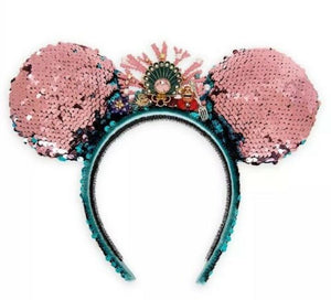 Disney Little Mermaid Sequin Ear Headband Limited Betsey Johnson New with Box