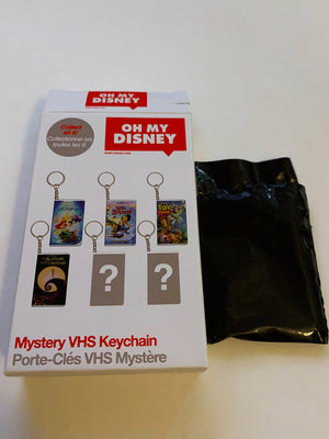 Disney Store Mystery VHS Keychain The Little Mermaid New with Box