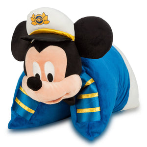 Disney Mickey Mouse Pillow Disney Cruise Line Plush New with Tag