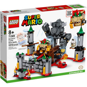 Lego 71369 Super Mario Bowser's Castle Boss Battle Expansion Set New with Box