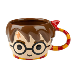 Universal Studios Harry Potter Head Character Sculpted Coffee Mug New
