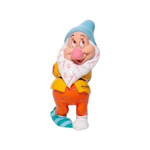 Disney Britto Seven Dwarfs Bashful Mini Figurine New with Box