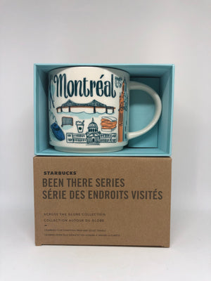 Starbucks Been There Series Collection Montreal Canada Quebec Coffee Mug New