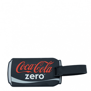 Authentic Coca Cola Coke Zero Can Luggage Tag New with Tags