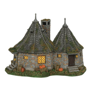 Department 56 Harry Potter Village Hagrid Hut Figurine New with Box