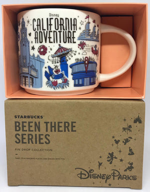 Starbucks Been There Series Coffee Mug California Adventure New with Box