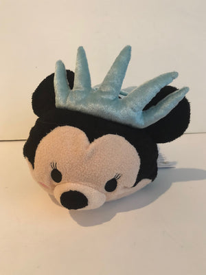 Disney Store Minnie Mouse Lady Liberty Tsum Tsum Medium Plush New With Tags