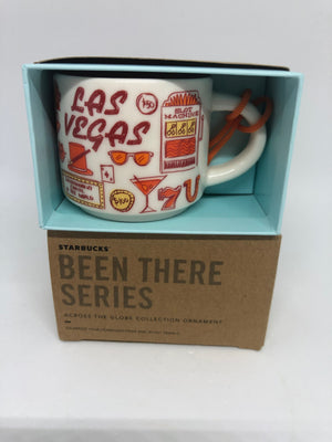 Starbucks Coffee Been There Las Vegas Ceramic Ornament Espresso Mug New Box