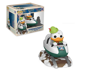 Disney 65th Disneyland Donald Duck on Matterhorn Bobsled Funko Figure New Box