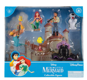 disney parks princess the little mermaid figure cake topper playset new with box