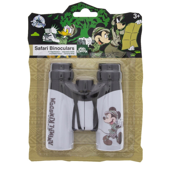 Disney Parks Animal Kingdom Mickey Safari Binoculars Toy New With Card