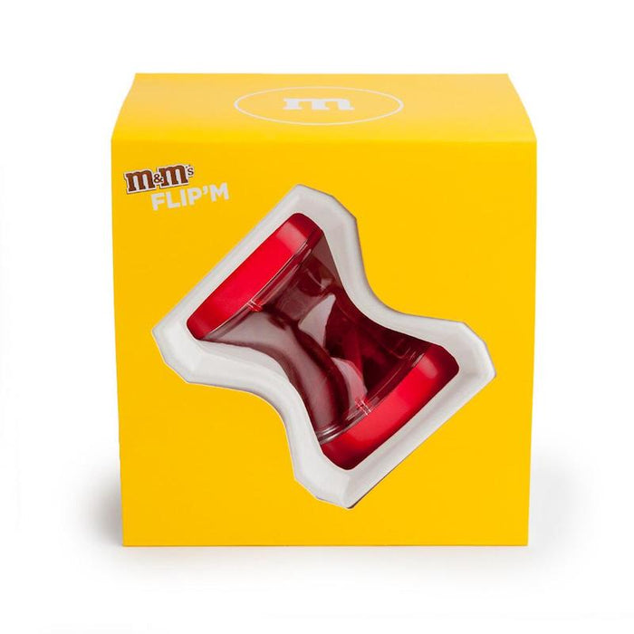 M&M's World Candy Red Flip Dispenser New with Box