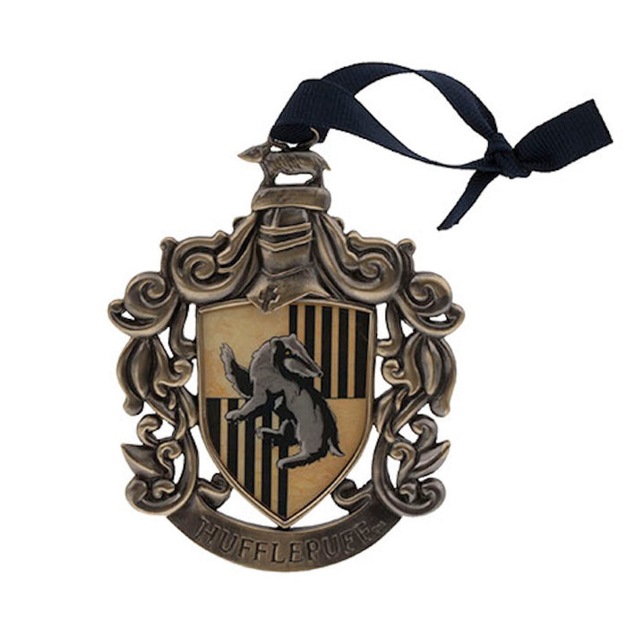 Universal Studios Harry Potter Hufflepuff Holiday Ornament New with Tags