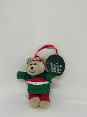 Starbucks 160nd Edition Male Bearista 2019 Limited Plush Ornament New with Tags