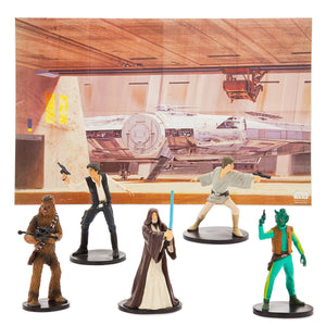 Disney Star Wars Cantina Fold-up Illustrated Play Mat Play Set New with Box