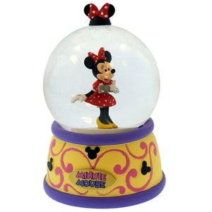 Disney Parks Snowglobe Minnie Magic Kingdom Travels New