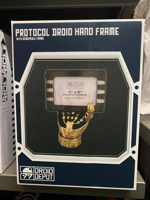 Disney Parks Star Wars Galaxy's Edge Protocol Droid Hand Photo Frame New w Box
