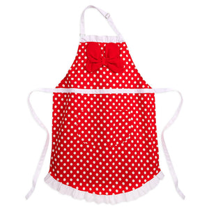 Disney Parks Mousewares Minnie Kitchen Apron for Adults New with Tags