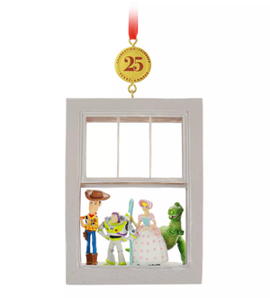 Disney Toy Story 25th Legacy Sketchbook Christmas Ornament New with Tag