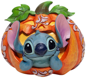 Disney Traditions Halloween Stitch Pumpkin Figurine Jim Shore New with Box