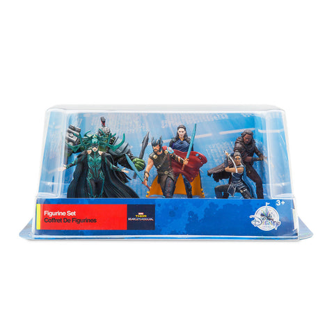 Disney Store Thor Ragnarok Figure Play Set 6 Playset Cake Topper New with box