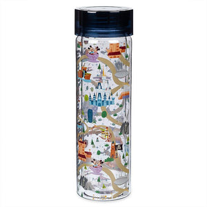 Disney Parks Life Mickey and Minnie Water Bottle Walt Disney World New
