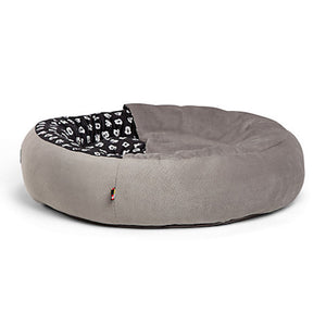 Disney Mickey Mouse Cozy Cuddler Pet Bed Gray Small New with Tags