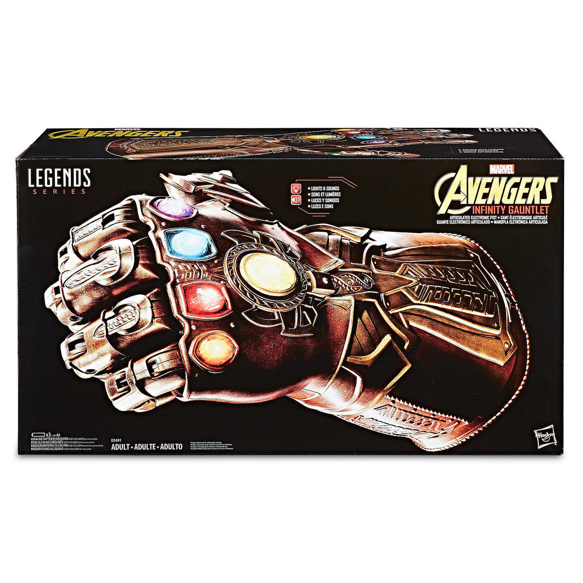 Disney Marvel's Avengers Infinity War Infinity Gauntlet Legends Limited New  Box